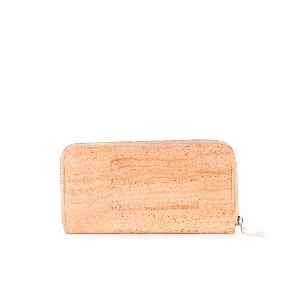 86367efd6498d7 universelle Geldbörse, Portemonnaie, beige mit Reißverschluss